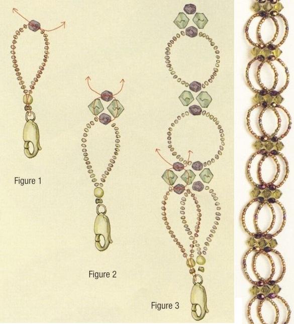 схема ошейника из бисера. плетем ошейник из бисера.