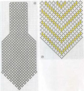 схема плетения галстука из бисера