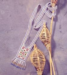 гердан из бисера в стиле кантри