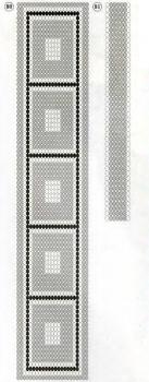 """схема галстука """"торжественного"""""""