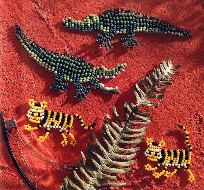 Схема их плетения: