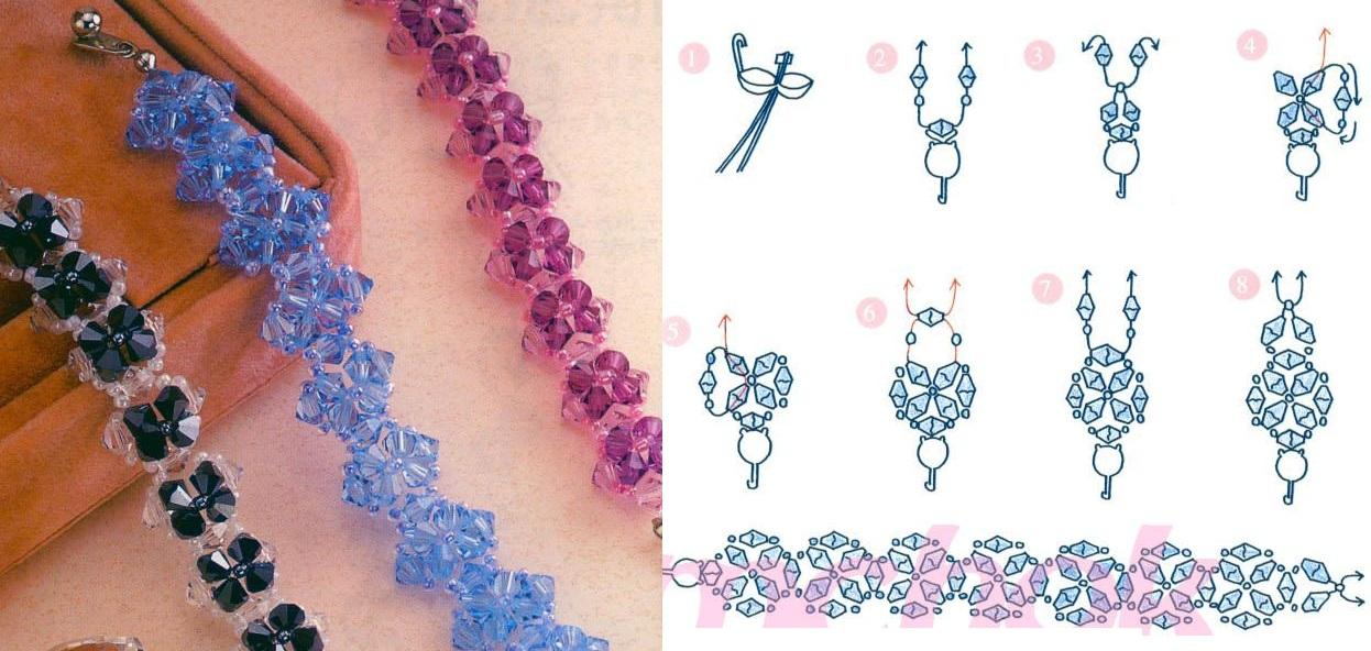 Красивые браслеты легко и красиво