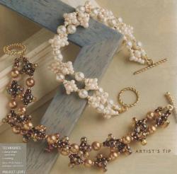плетем красивые браслеты из бисера