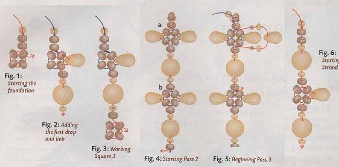 браслеты из бусин схемы плетения - Всемирная схемотехника.