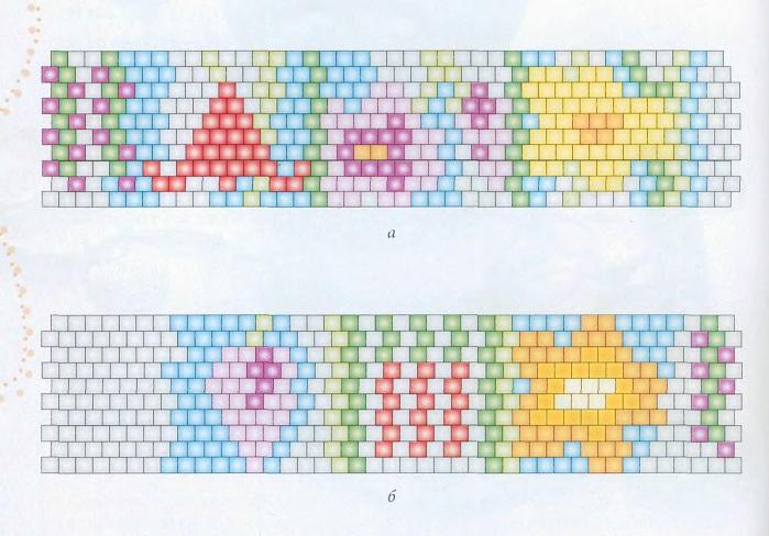 браслеты из бисера схемы плетения для начинающих - Лучшие схемы и описания для всех.