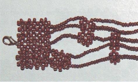 браслеты из бисера для новичка по нарисованной схеме - Лучшие схемы и описания для всех.