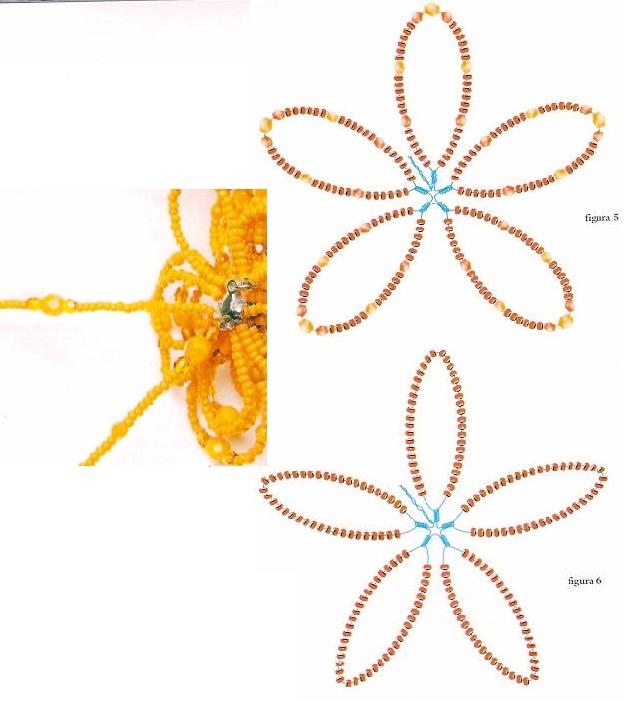 Если верхние стороны не соединять. получится медальон.  Для создания украшений часто плетут уголок...