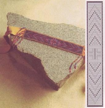 ремень пояс из бисера