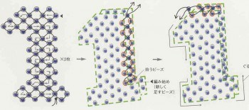 плетение из бисера плоских фигурок - О том, как плести бисером.
