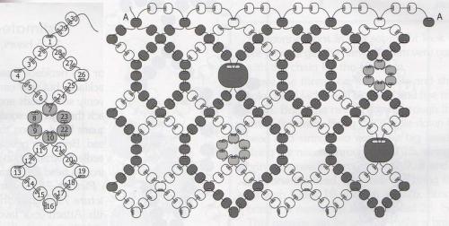 схема колье Кострома
