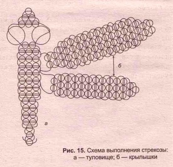 схема плетения простой