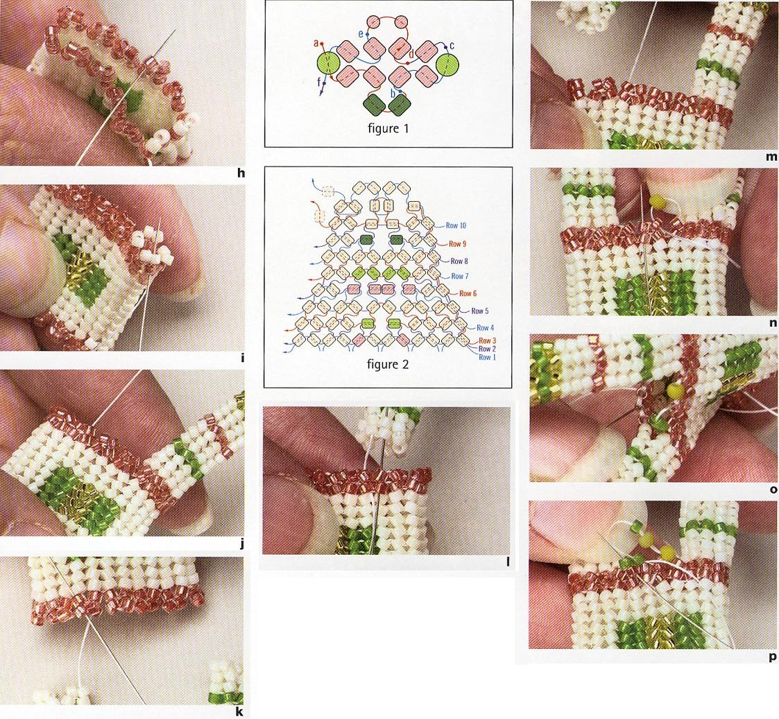 Видео плетение мозаикой из бисера