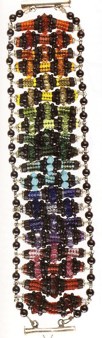 Схема плетения фрагментов