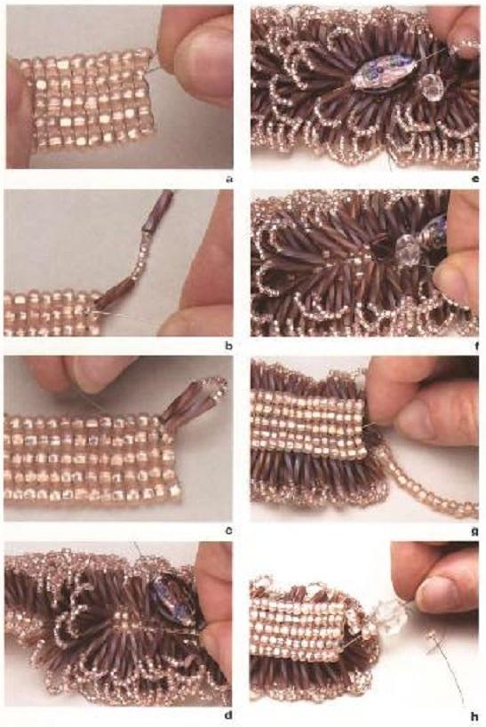 схема плетения браслета. плетение.