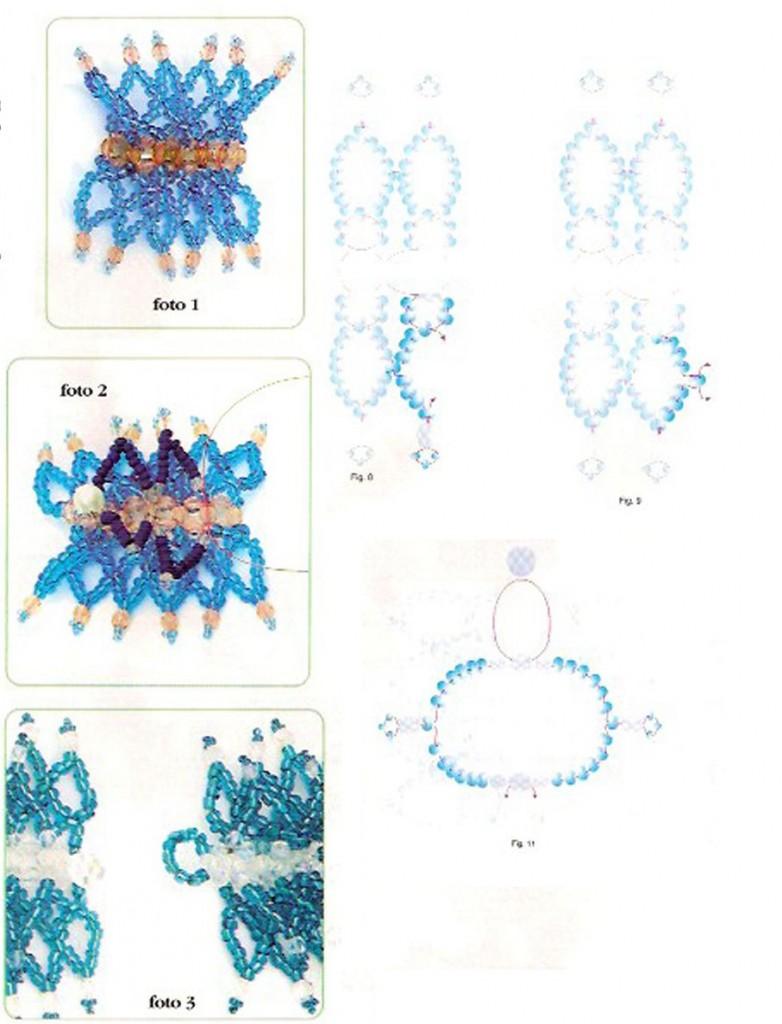 Схемы плетения бисером с бусинами