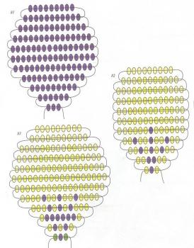 Анютины глазки двух видов.