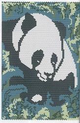 Полотно из бисера с изображениями животных Очень красивые картины с изображением панды и собаки, которые вы можете...