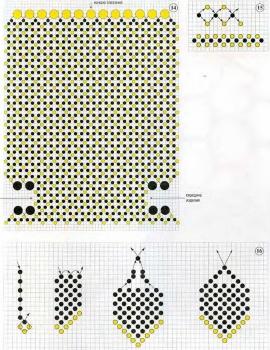 схема сумочки для мобильного телефона