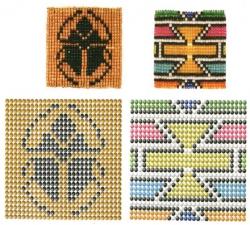 Мозаичные узоры из бисера