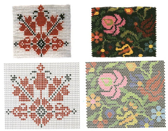 Вы сможете подобрать арнамент различной тематики и на любой вкус.  Понятные схемы плетения изделий.