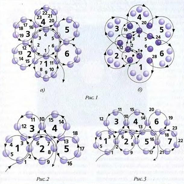 букет b лилий из бисера схема /b плетения.