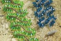 браслет из кристаллов