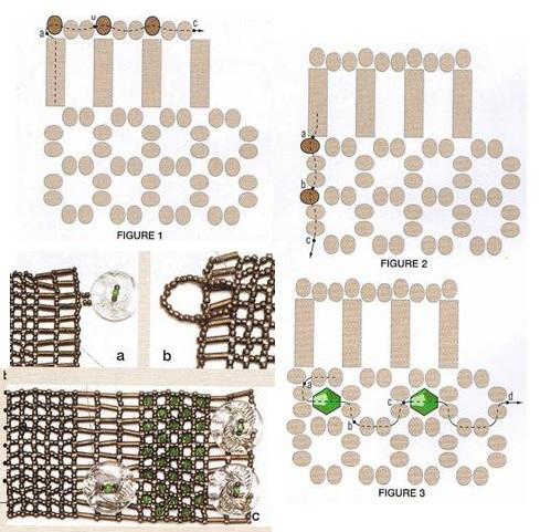 браслеты из бисера схемы плетения - Всемирная схемотехника.