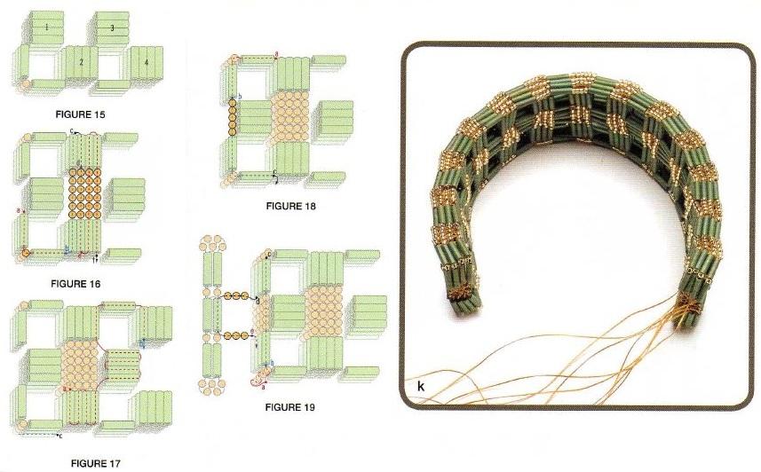 Бижутерия Бисер, схемы плетения и вышивки из бисера.  Малина и уход: чай липтон п passion raspberry.