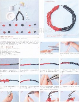 Описание плетение колье