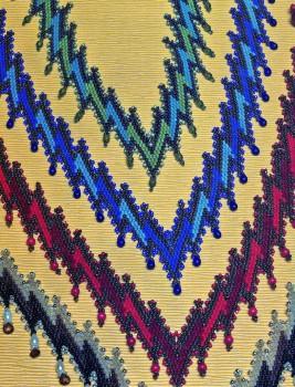 Разноцветные колье. Бисер