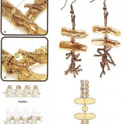 схема крокодила из бисера