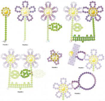 Схема изделия из бисера
