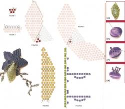 украшения из бисера схемы плетения - Практическая схемотехника.