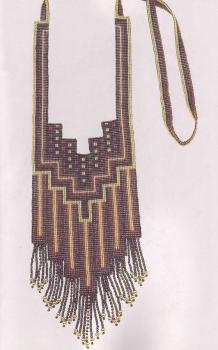 ожерелье геометрическое