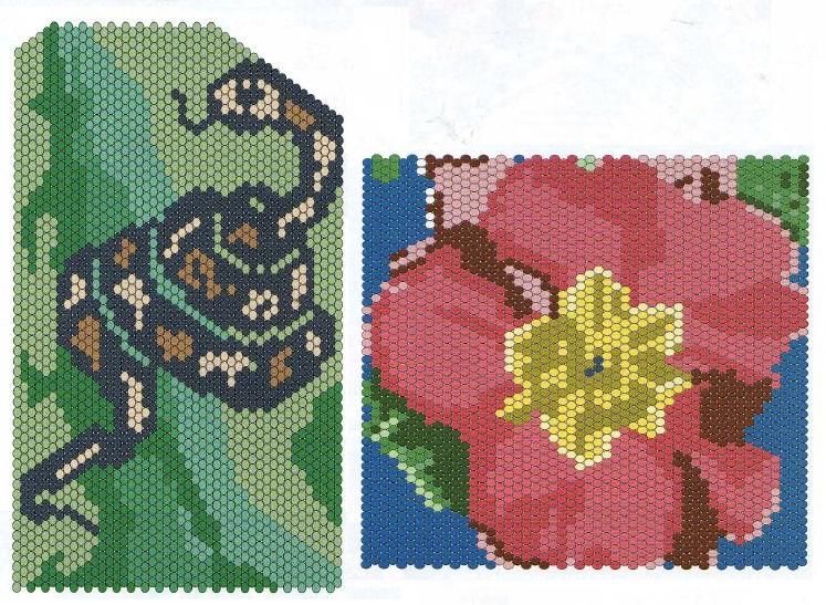 Отличные узоры для мозаичного