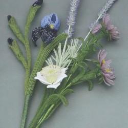Плетение Букетов цветов.