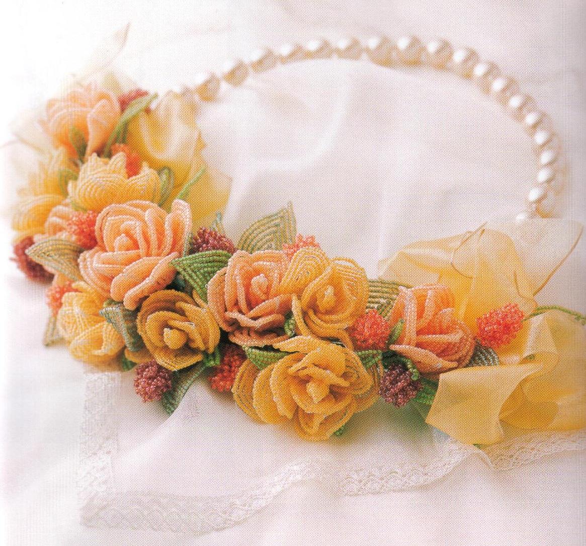 Большое разнообразие красивых букетов сплетённых из бисера.  Очень простая техника плетения цветов совершенно вас не...