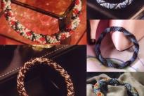 Разноцветные браслеты (16 расцветок)