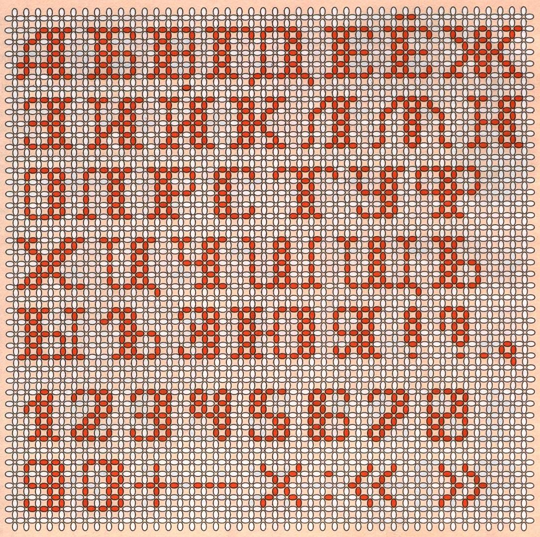 Русский алфавит и цифры из бисера-1.