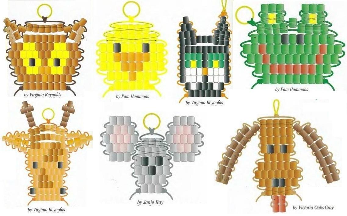 бисероплитение схемы плетение брелков смешарики - Лучшие схемы и описания для всех.