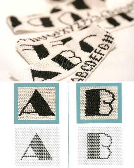 схем плетения из бисера