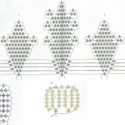 Мастер - классы Cveti-iz-bisera-i-busin-shema-250x250