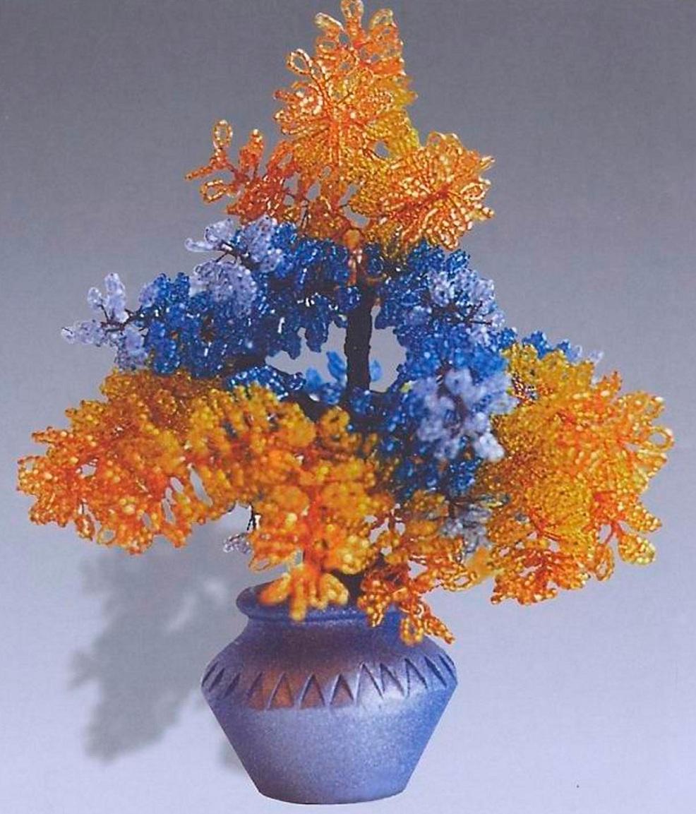бисер Стольная Цветы и деревья.  Все фотографии альбома.
