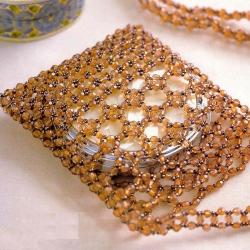 сумочка из кристаллов