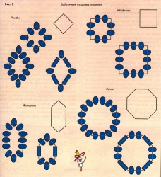 разновидности ажурного плетения из бисера