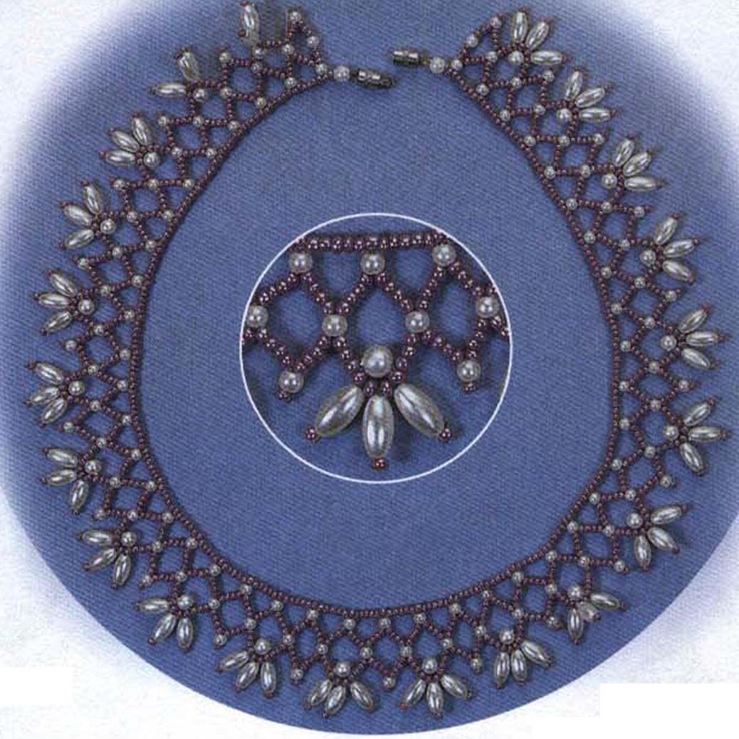 """Раздел: Колье.  Ожерелье  """"Анастасия """" Материал: бусины с покрытием под жемчуг - нитка 50 см маленьких круглых бусинок..."""