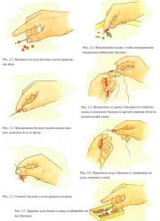 как нанизывать бусины на нить