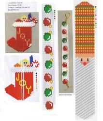 новогоднии изделия из бисера