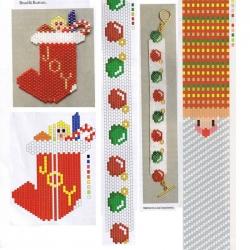 Плетение новогодних украшений из бисера Интересные изделия из бисера к новому году на елку.