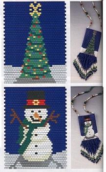 схемы плетения сумочек для Нового года